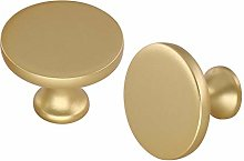 Gold Knobs Cupboard Knobs 10 Pack - LONTAN Gold
