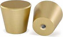 Gold Knobs Round Cabinet Knobs 10 Pack - LONTAN