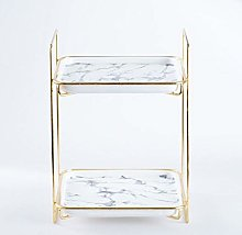 Gold Plated Cake Stand Wedding Party Cake Display