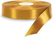 Gold Satin Ribbon - 50mm Wide - 5 Meter - GCS