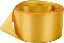 Gold Satin Ribbon - 50mm Wide - 5 Meter - GCS
