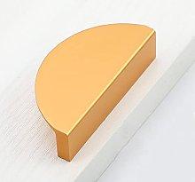 Gold Semicircular Handle Dresser Cabinet Light