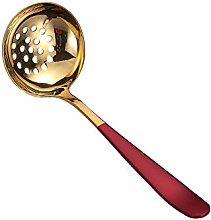 Gold Soup Scoop Stainless Steel Soup Ladle