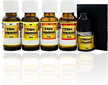 Gold test and testing kit, gold tester kit,