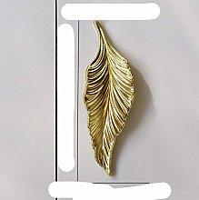 Gold Tree Leaf Copper Furniture Kitchen Handles