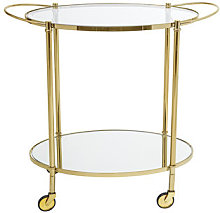 Gold Trolley by Bloomingville