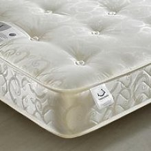 Gold Tufted Orthopaedic Spring Mattress - 2ft6