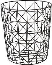 GOLDBEARUK Black Wire Mesh Geometric Modern Style