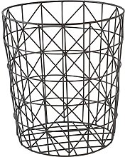GOLDBEARUK Black Wire Mesh Geometric Modern Style