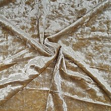 Golden Beige - Ice Crushed Velvet Glitz Premium