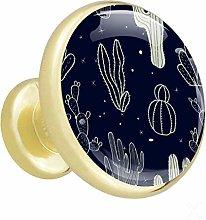 Golden Cabinet Knobs Round Drawer Knobs Drawer