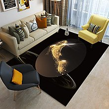 Golden fish Area Rug Non Skid Rug,Soft Bedrooms