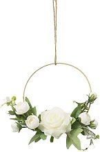 Golden Flower Wreaths to Hang on the Wall,