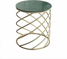 Golden Marble Side Table, Sofa Side Table, Sitting