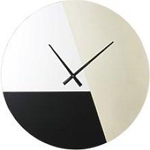 Golden Metal and Tinted Mirrors Clock D88