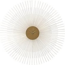 Golden Metal Clock D95