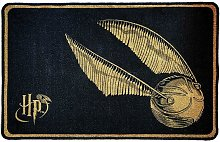 Golden Snitch Scatter Rug (One Size) (Black/Gold)