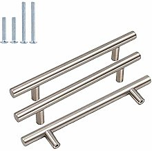 goldenwarm 20Pack Cabinet Pulls Brushed Nickel
