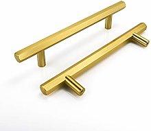 goldenwarm 5 Pack Gold Drawer Handles