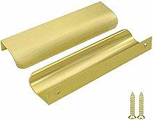 Goldenwarm Pack of 5 Aluminium Kitchen Handles