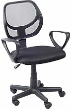 GOLDFAN Arms Chair Swivel Desk Chair for Home