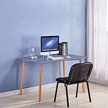 GOLDFAN Computer Desk Office Desk Sturdy Wooden
