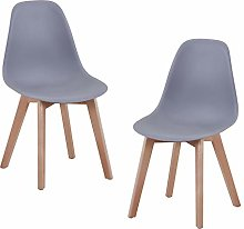 GOLDFAN Dining Chairs Set of 2 Modern Kitchen