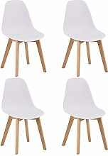 GOLDFAN Dining Chairs Set of 4 Modern Kitchen