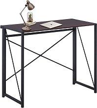 GOLDFAN Foldable Desk Computer Folding Table Study