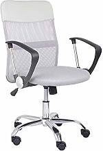 GOLDFAN Mesh Arms Chair Swivel Desk Chair for Home