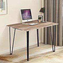 GOLDFAN Modern Computer Desk Office Study Desk