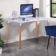 GOLDFAN Modern Computer Desk Table on Workstation
