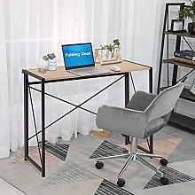 GOLDFAN Rectangular Folding Desk Office Table