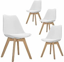 GOLDFAN Set of 4 Dining chairs Modern Kitchen