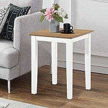 GOLDFAN Small Oak Table Side Lamp Coffee Table