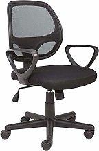 GOLDFAN Swivel Chairs Mesh Office Chair Black
