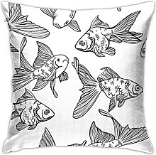 Goldfish Cushion Cover Car Cushion Cover Cushion