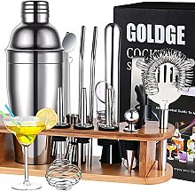 GOLDGE Cocktail Set (17 + 1) Stainless Steel