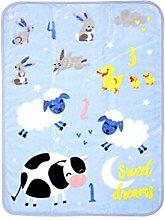 Goldstar ® Farm Animal Baby Throw Soft Warm And