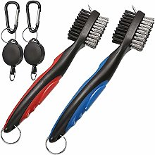 Golf Brush Retractable Groove Cleaner Dual Sided
