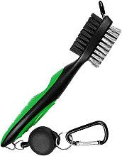 Golf Club Brush Dual Brush Heads Retractable
