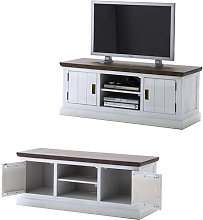Gomera TV Stand Lowboard In Wood Acacia