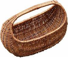Gondola Shopping Wicker Basket Brambly Cottage