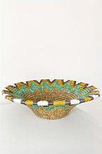 Gone Rural - Lavumisa Mustard Yellow Basket Medium
