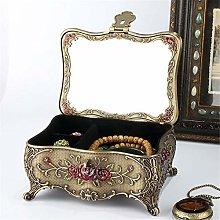 GonFan Jewellery Box Vintage European Diamonds