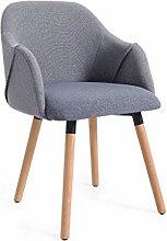 GONGFF Bar stool Nordic Chair Modern Simple Chair