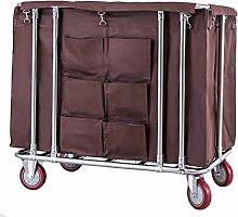 GONGFF Beauty Salon Cart Trolley Durable Laundry
