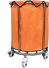 GONGFF Beauty Salon Cart Trolley Laundry Hamper