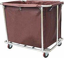 GONGFF Beauty Salon Cart Trolley Laundry Sorter