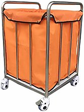GONGFF Beauty Salon Cart Trolley Squre Laundry